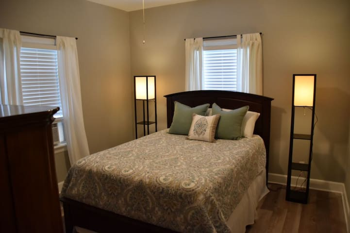 Cozy bedroom with a Queen Size Bed