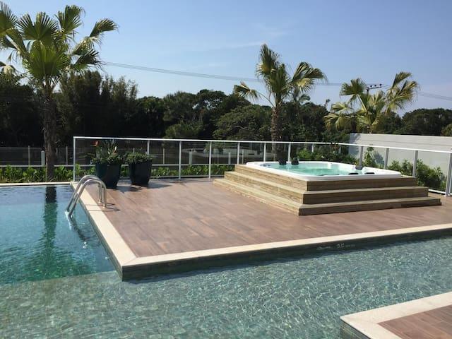 ⭐️⭐️⭐️⭐️⭐️Beach front- Thai Resort Campeche