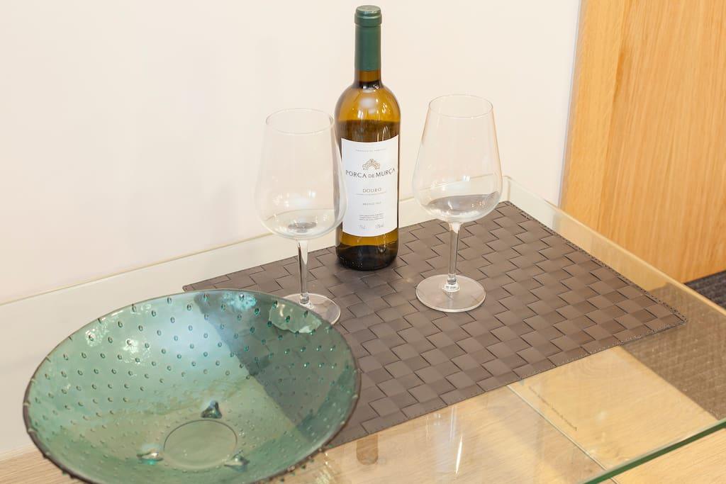 Parfait pour un verre de vin apres une bonne journee en balade.