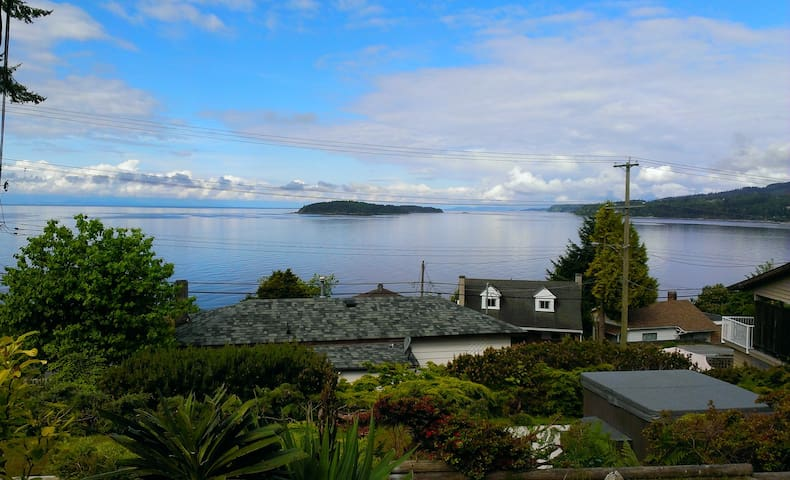The Million Dollar View at  Blue Waters Cottage.