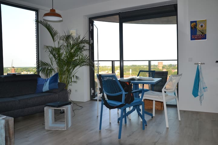 Two room apartment, cityscape view - Utrecht - Apartment