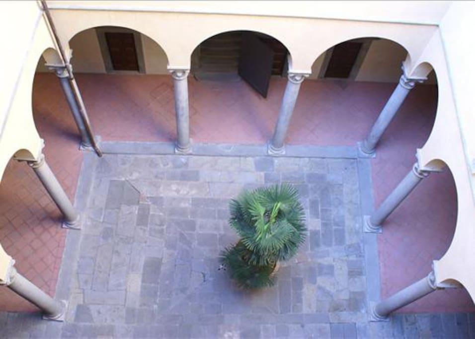Palazzo Bardi Chiostro del Brunelleschi