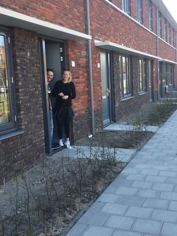 New build house in beach village Noordwijk (3p)