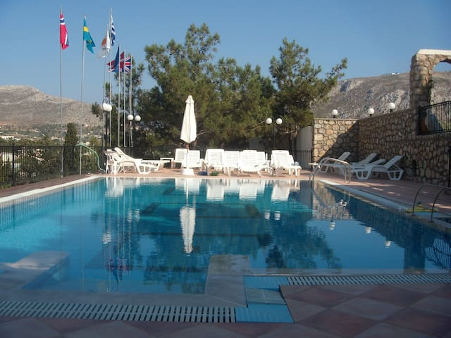 Δωματια με πισινα - Kalymnos - ที่พักพร้อมอาหารเช้า