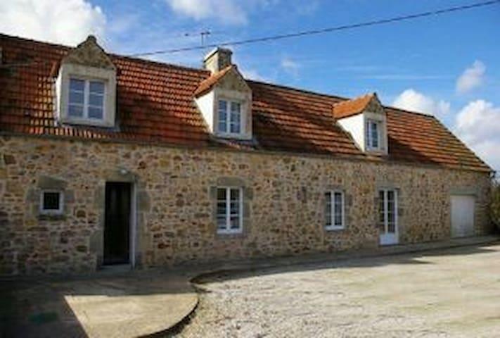 Chambre au beau milieu du Cotentin