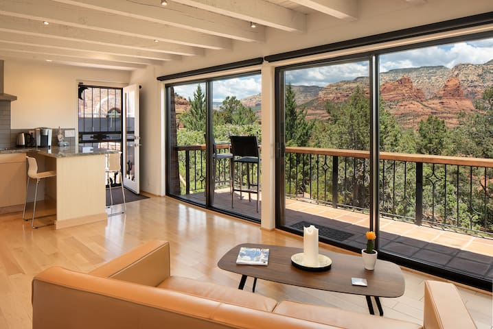 Stunning views from everywhere in your apartment