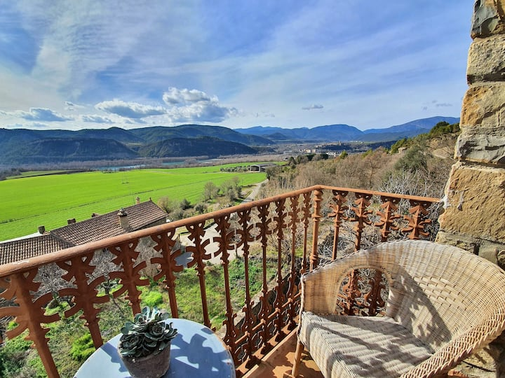 Apartamento boutique rural, espectaculares vistas.