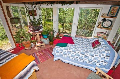Earth Knack Garden House: A unique, artful home.