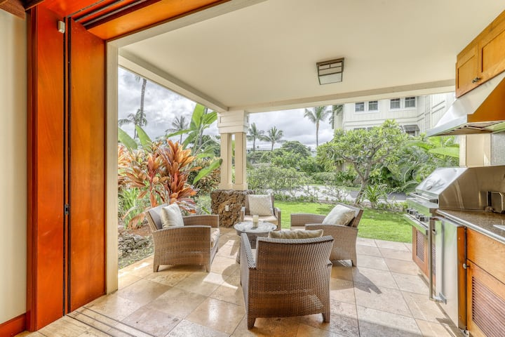 Remodeled, ground-floor home w/ beach access, shared pool & hot tub, & A/C