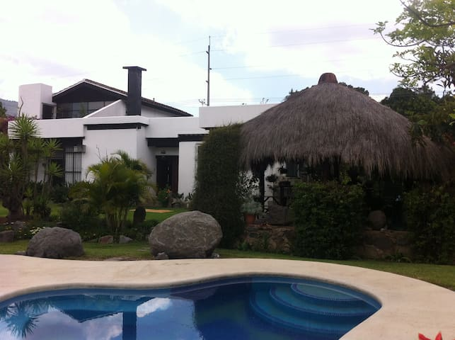 gorgeous home in lush gardens