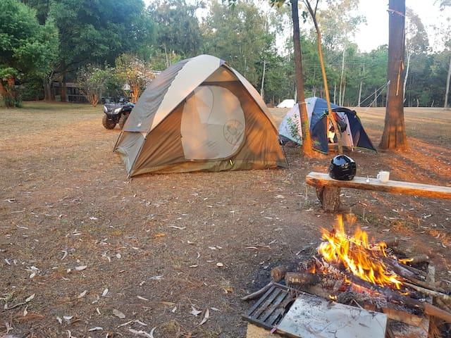 Camping a 25 min de Morelia para familia o grupos