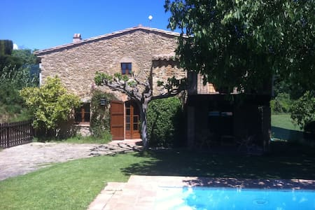 Cute country house in Costa Brava - Llampaies - Huis