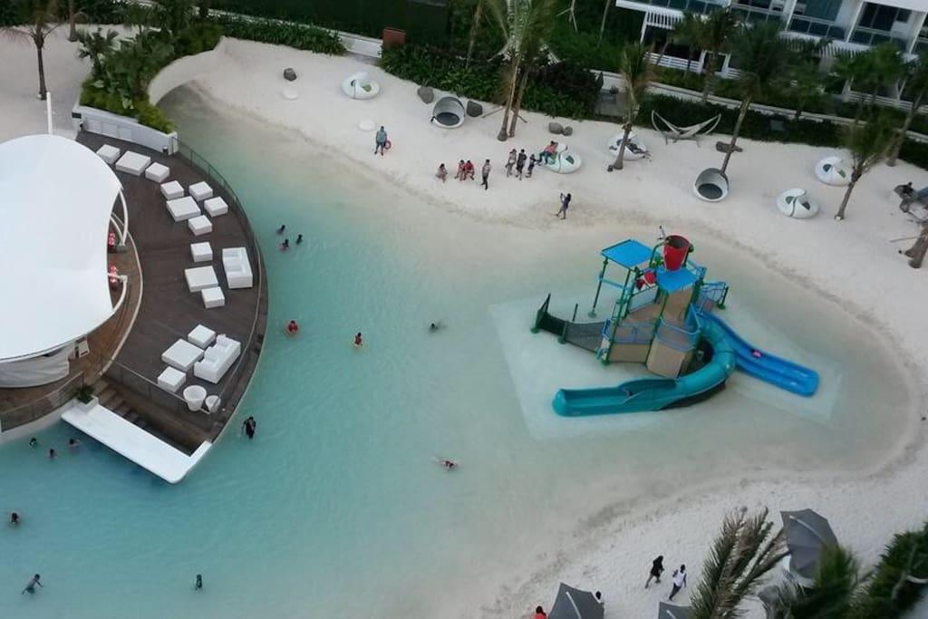 Man-Made Beach / Kiddie Beach and Play