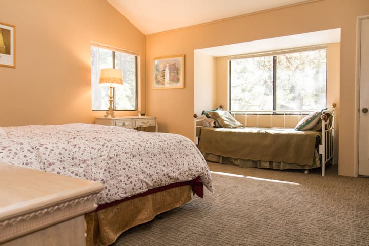 King and twin with trundle in master suite