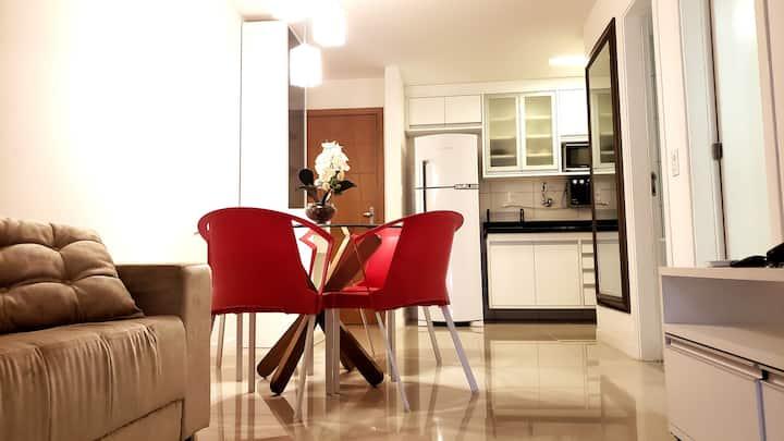 Apartamento completo para turismo e negócios
