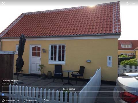 Precioso apartamento de 1 habitación en el centro de Skagen. Apartamento.2