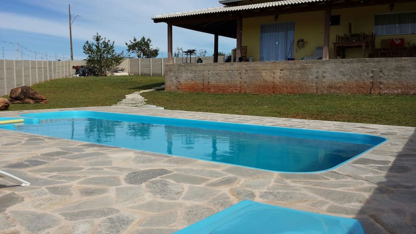 Exclusive bedroom & bathroom. Pool - Brasília