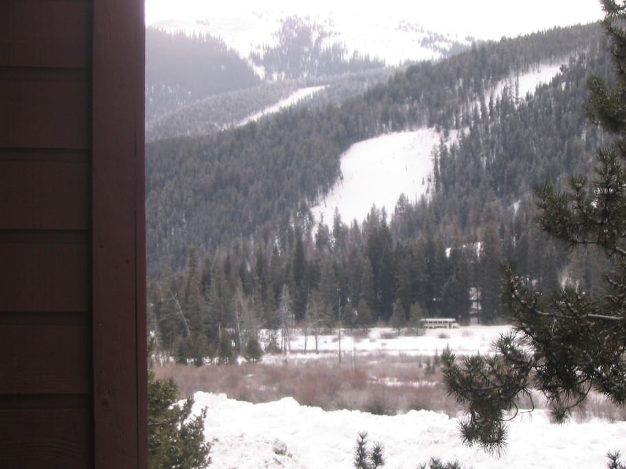 Lovely view directly from Balcony of Keystone Resort