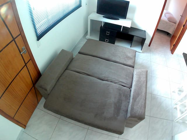 sofá cama novo
