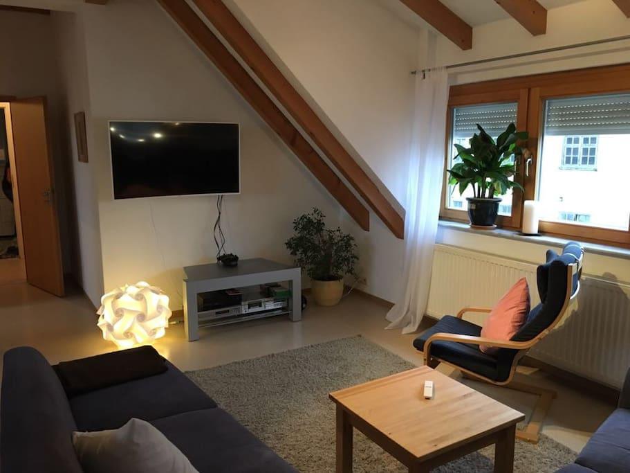 sch nes wohnen ber der b ckerei apartments for rent in. Black Bedroom Furniture Sets. Home Design Ideas