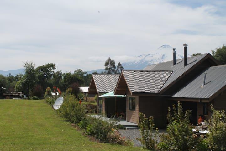 Casa de campo, entre Pucón y Villarrica