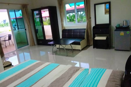 Double room apartment with Swimming pool A/C