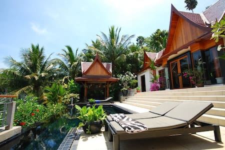 Luxury Villa, Surin beach, Phuket   - Choeng Thale