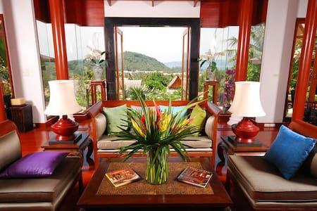 Luxury Villa, Surin beach, Phuket   - Choeng Thale - Villa