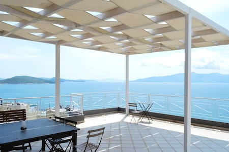 Luxury Penthouse with Sea View-67 - Sarandë - 公寓