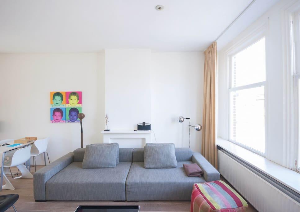 design apartment scheveningen beach wohnungen zur miete in den haag s d holland niederlande. Black Bedroom Furniture Sets. Home Design Ideas