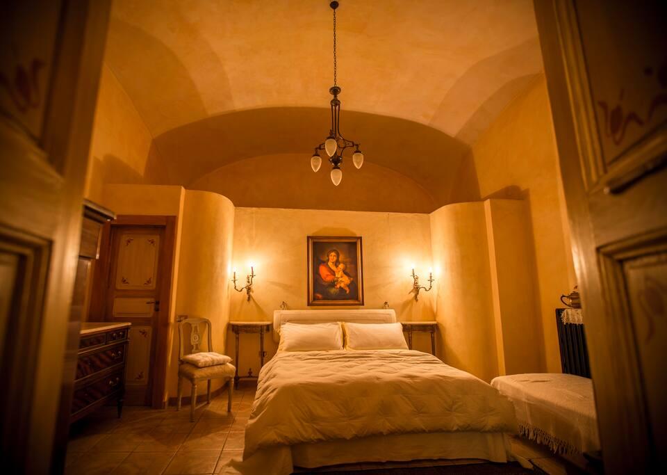 camera da letto matrimoniale/tripla