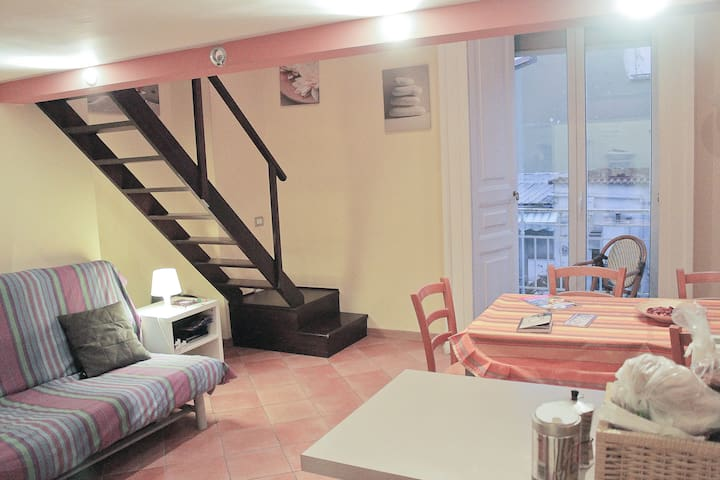 Apartment on two floors - max5 beds