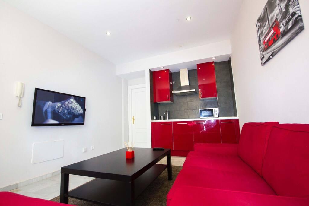 Moderno apartamento centro m laga apartamentos en alquiler en m laga andaluc a espa a - Apartamento en malaga centro ...