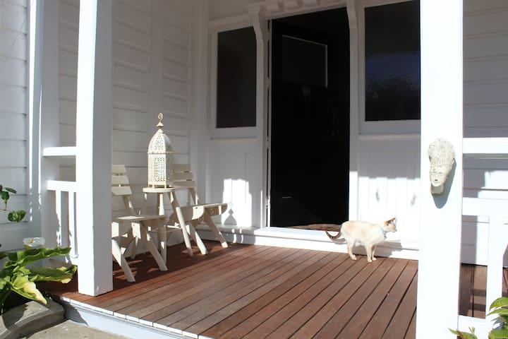 The front Porch/Verandah