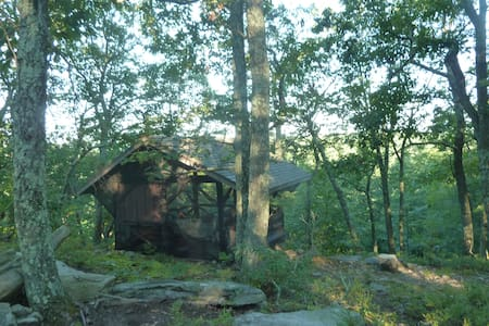 The Summit Cabin on 60 Acres  - Newtown - Cabaña