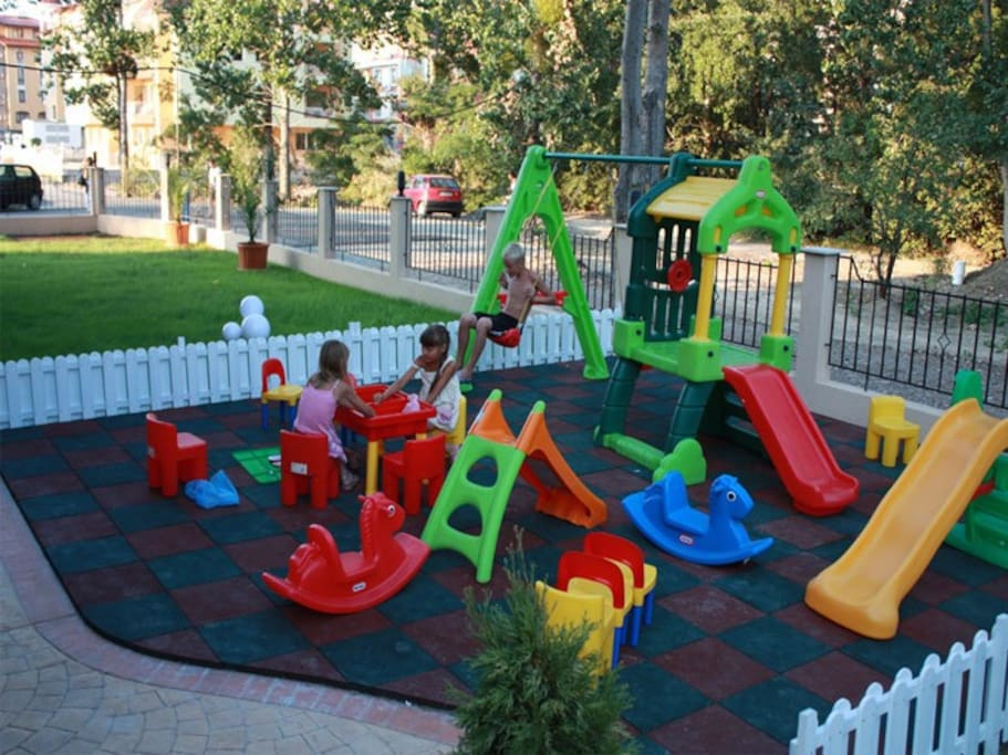 Playground zone for kids