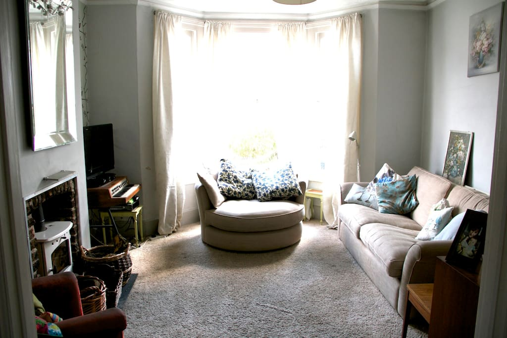 Big comfy sofas to relax after a hectic day in town!