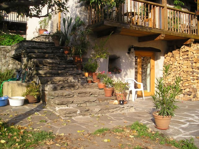 Studio Apartment in Nature Park - Viganella - Daire