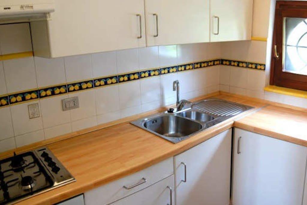 Cucina dell'appartamento