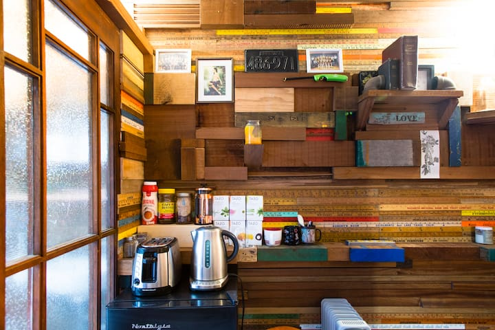 Shipping container, tiny home
