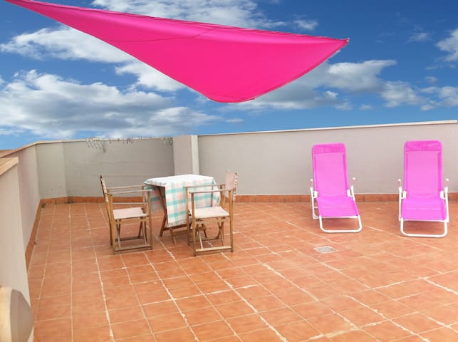 Lovely with terrace in city center - Palma de Mallorca - Appartement