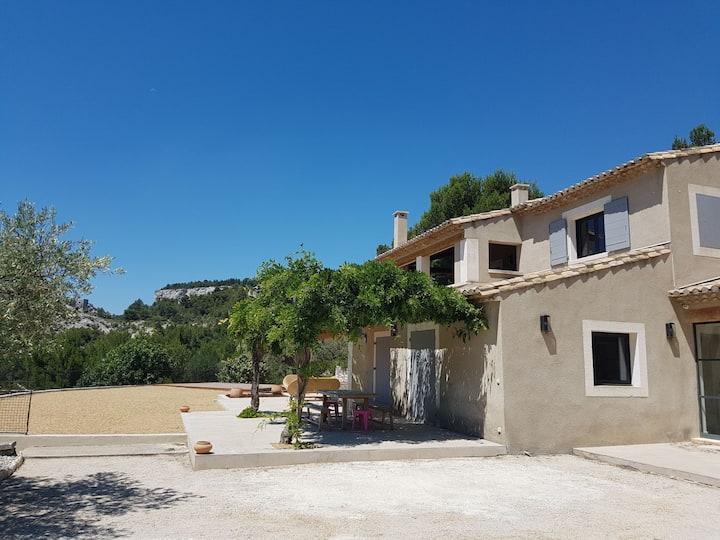 Maison au coeur de la Vallée des Baux de Provence