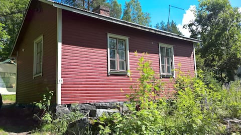 Kuopiossa mummonmökki