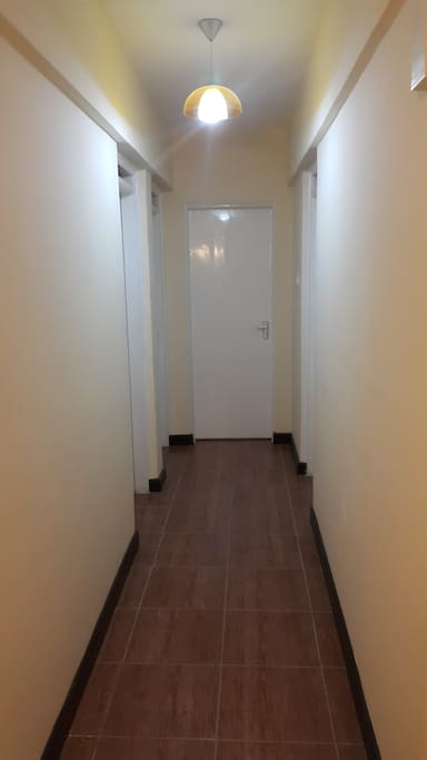 Corridor Leading to other rooms and washroom
