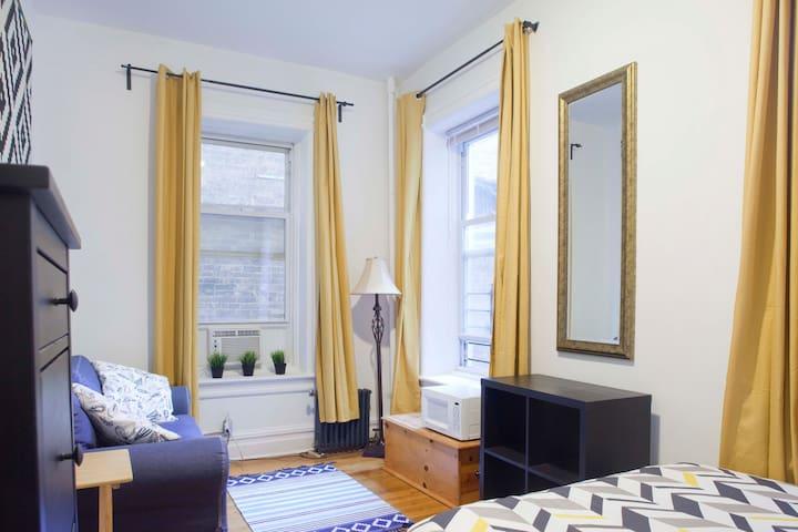 Spacious Manhattan Room near Central Park - New York - Apartmen