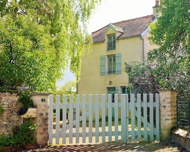 Maison de charme, tennis, Bourgogne - Montmoyen - Hus