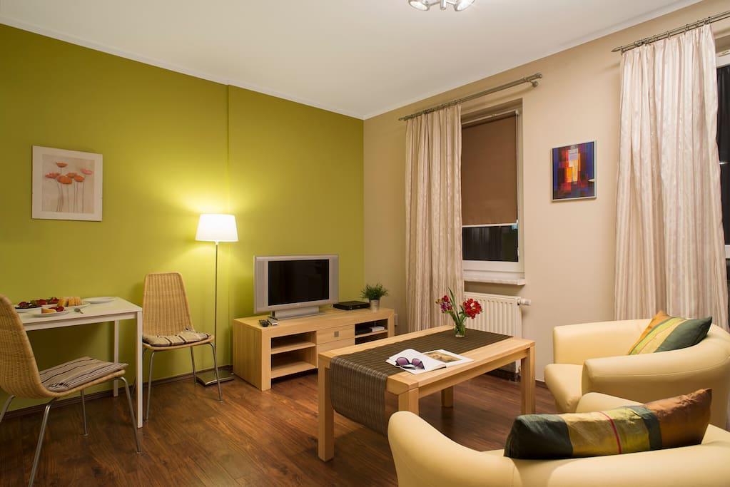 Apartment Ochota 19 Warsaw - with free parking space in the underground garage