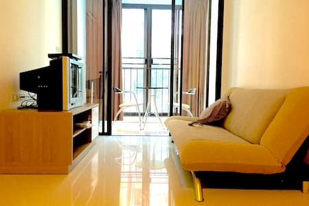 Swimming pool, gym, 1BR, near BTS& 7-11, Bangkok - Bangkok - Condominium