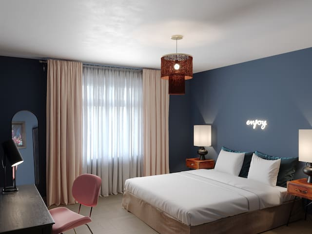 Carefully Designed Deluxe Double Room