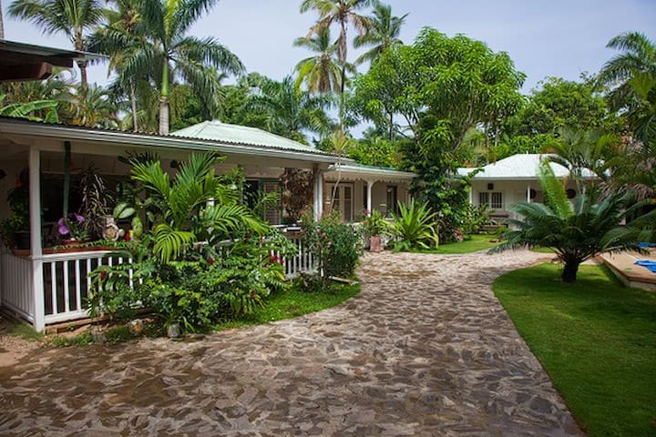 Bungalow 2 rooms 50m  beach / town - Las Terrenas - Huis